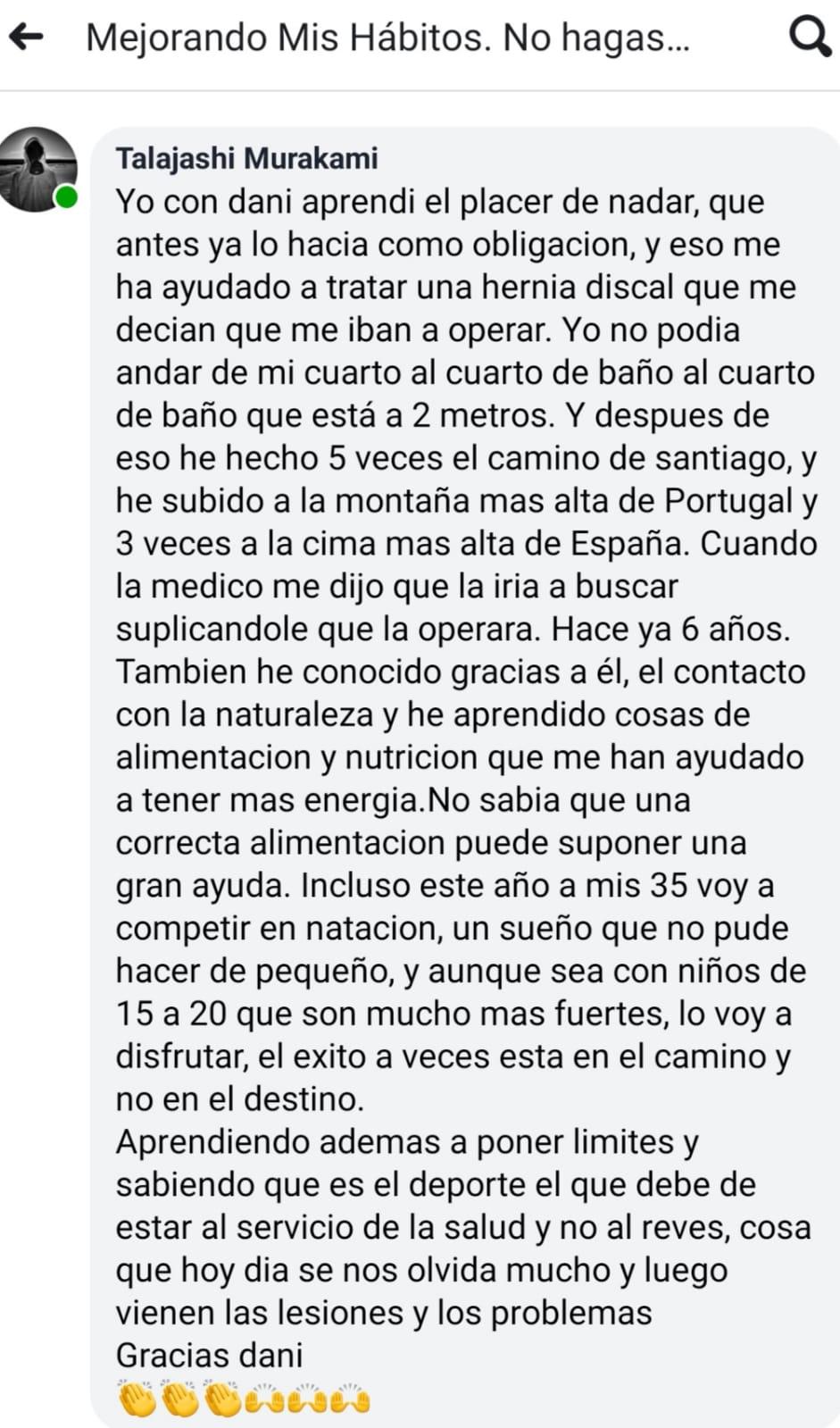 MEJORA DE HABITOS